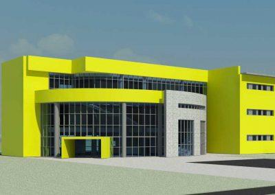 Nuovo centro scolastico di istruzione superiore a Brugherio