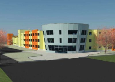 Nuovo centro scolastico ad Arcore (MI)